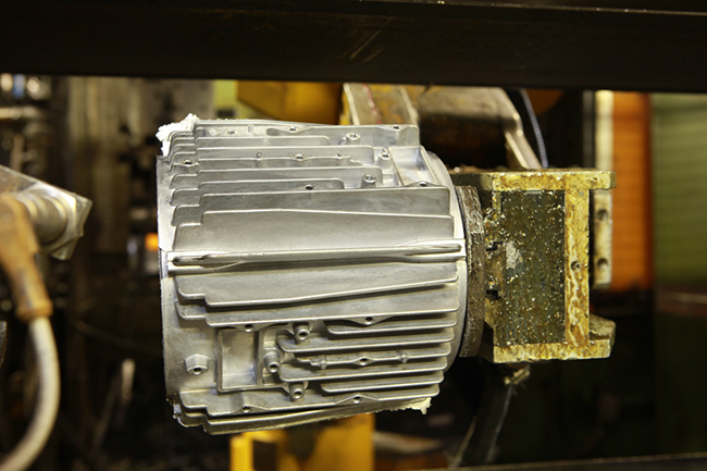 Die-casting components for electrical motors