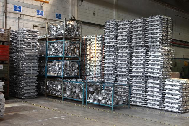 Aluminum die-casting components